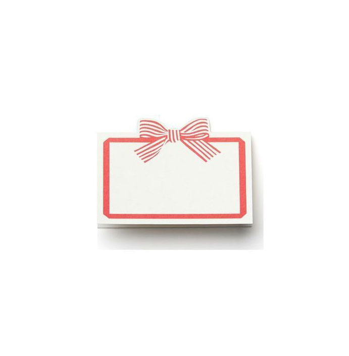 Cheree Berry Paper Bow Place Cards