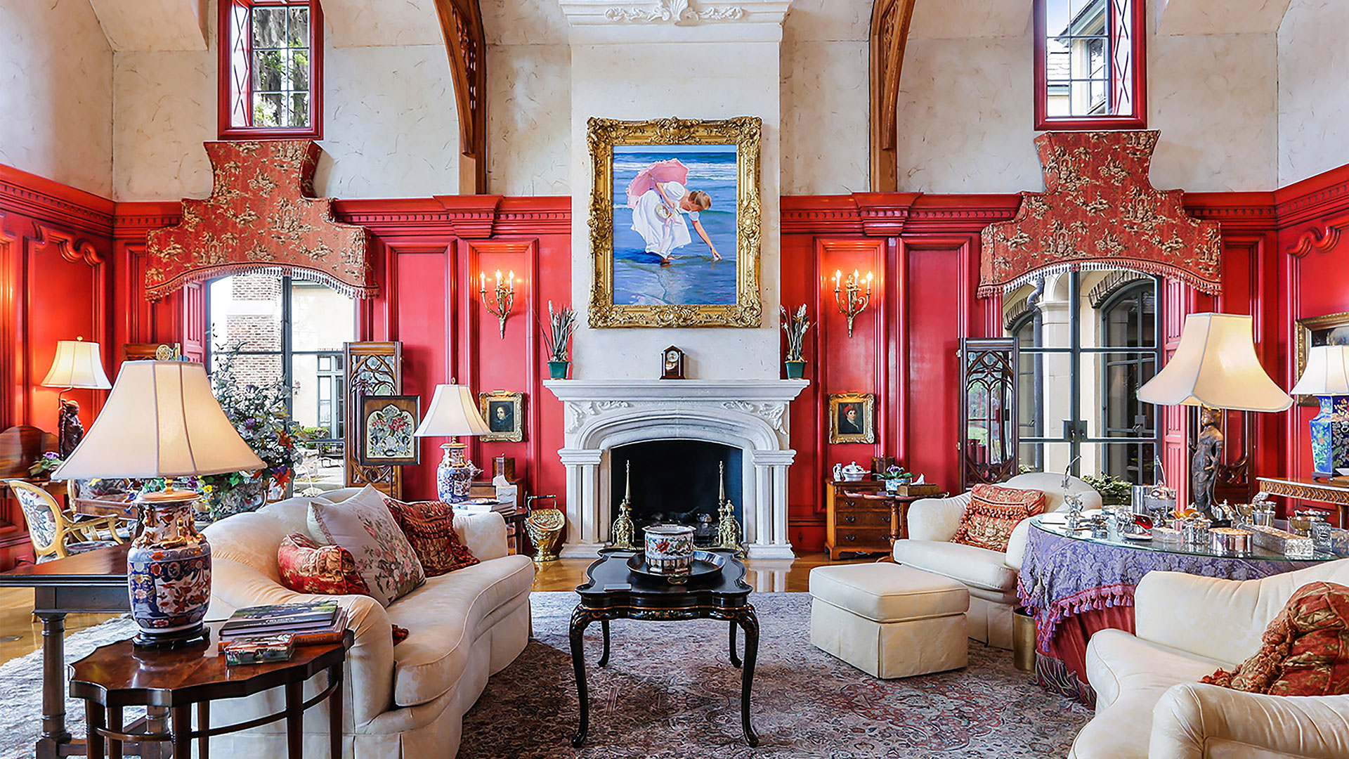 Colleton River Club French Chateau Great Room