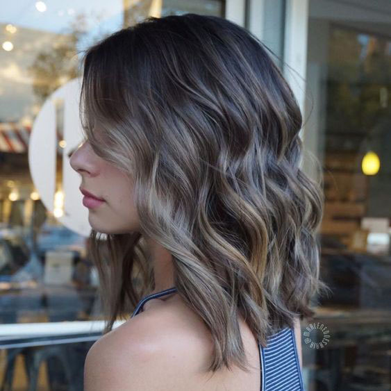 Medium Length Haircuts For Thin Hair