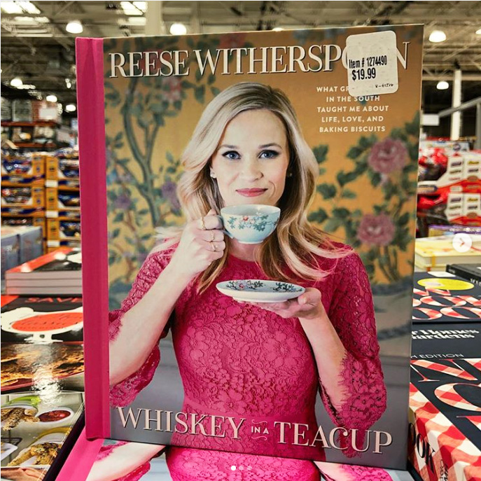 'Whiskey in a Teacup' Book