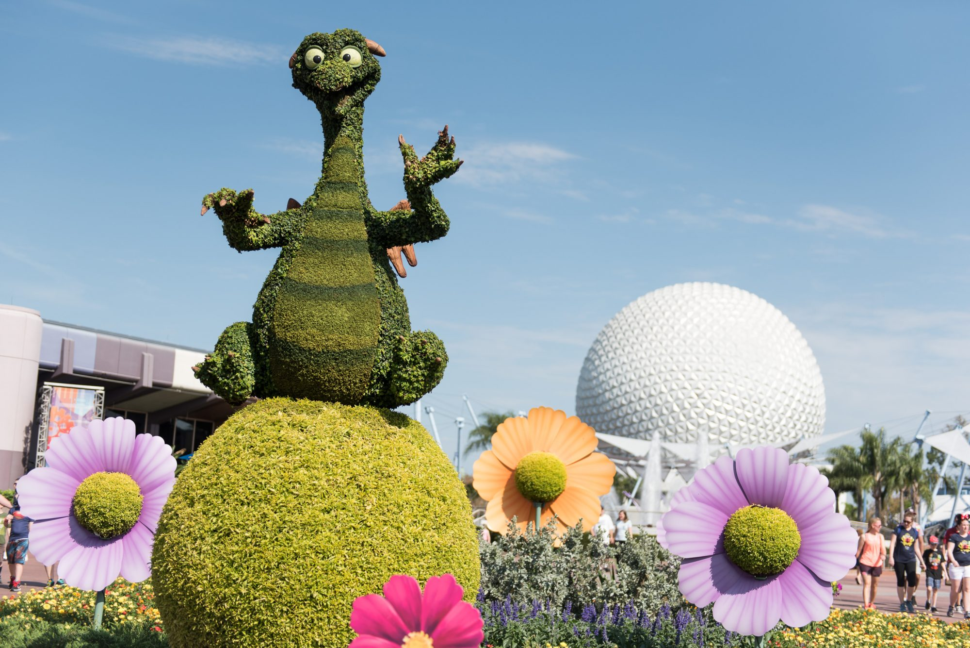 Epcot International Flower & Garden Festival 1