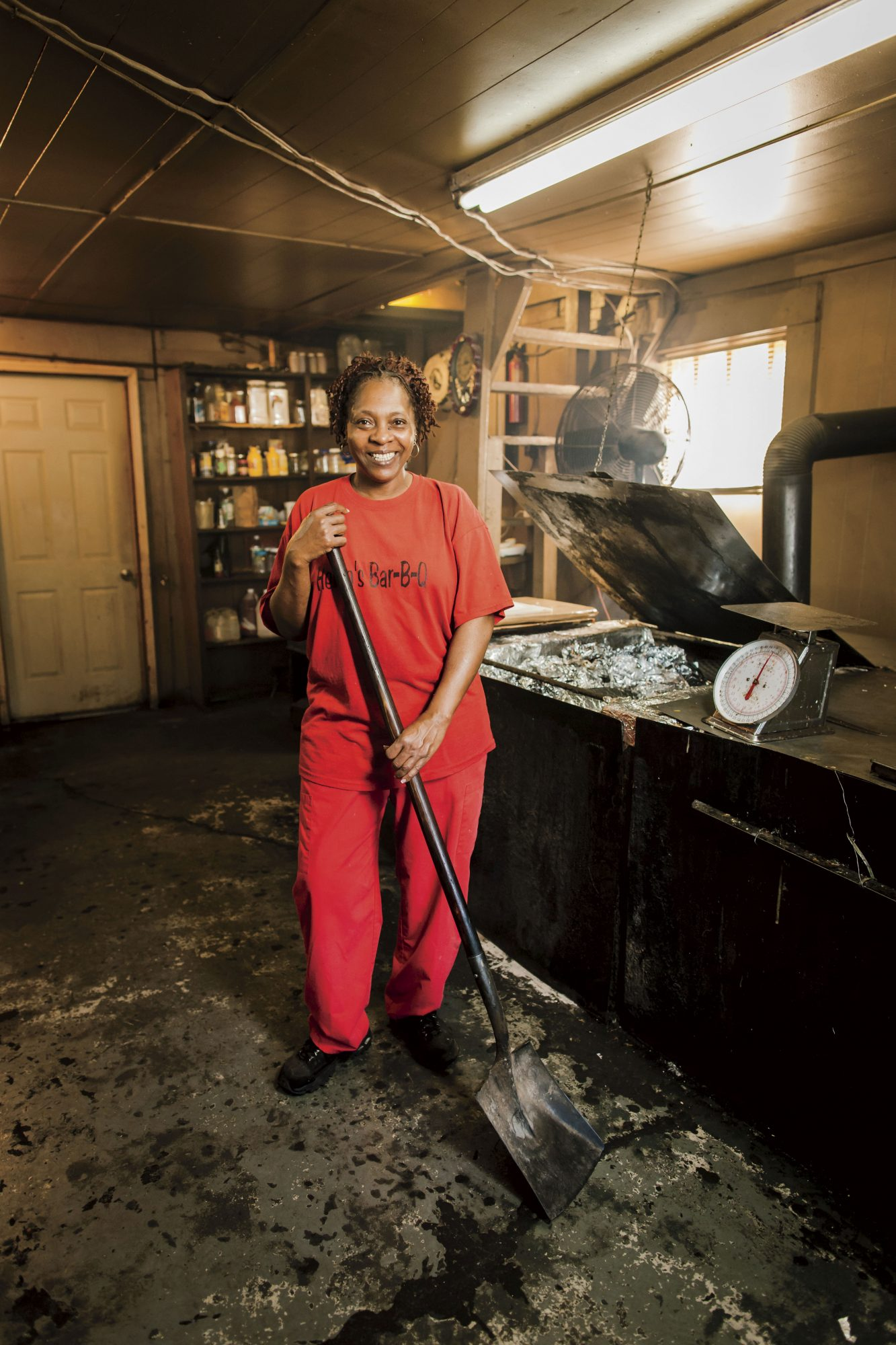 Helen Turner of Helen's Bar-B-Q Brownsville, TN
