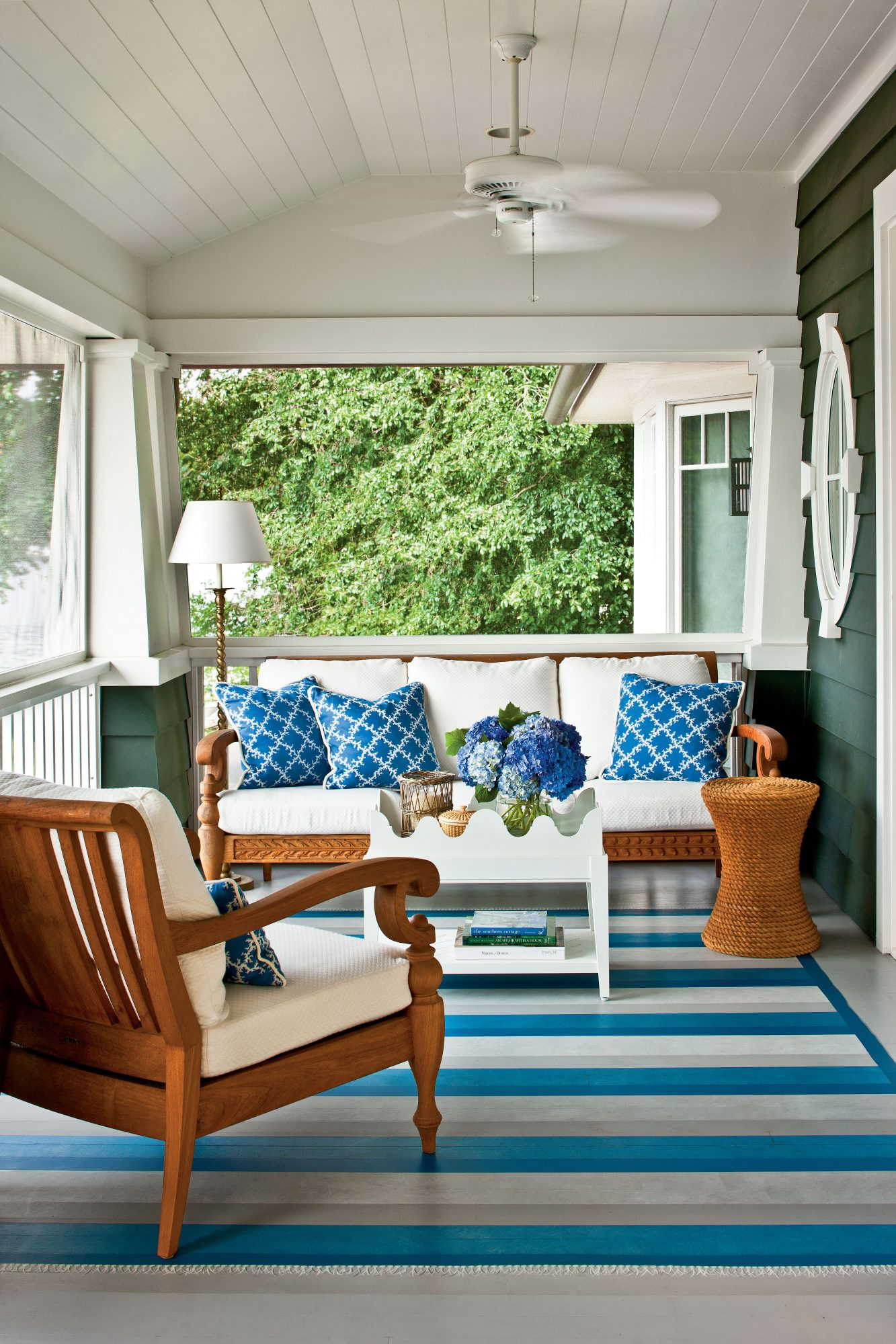 Classic Nautical Porch