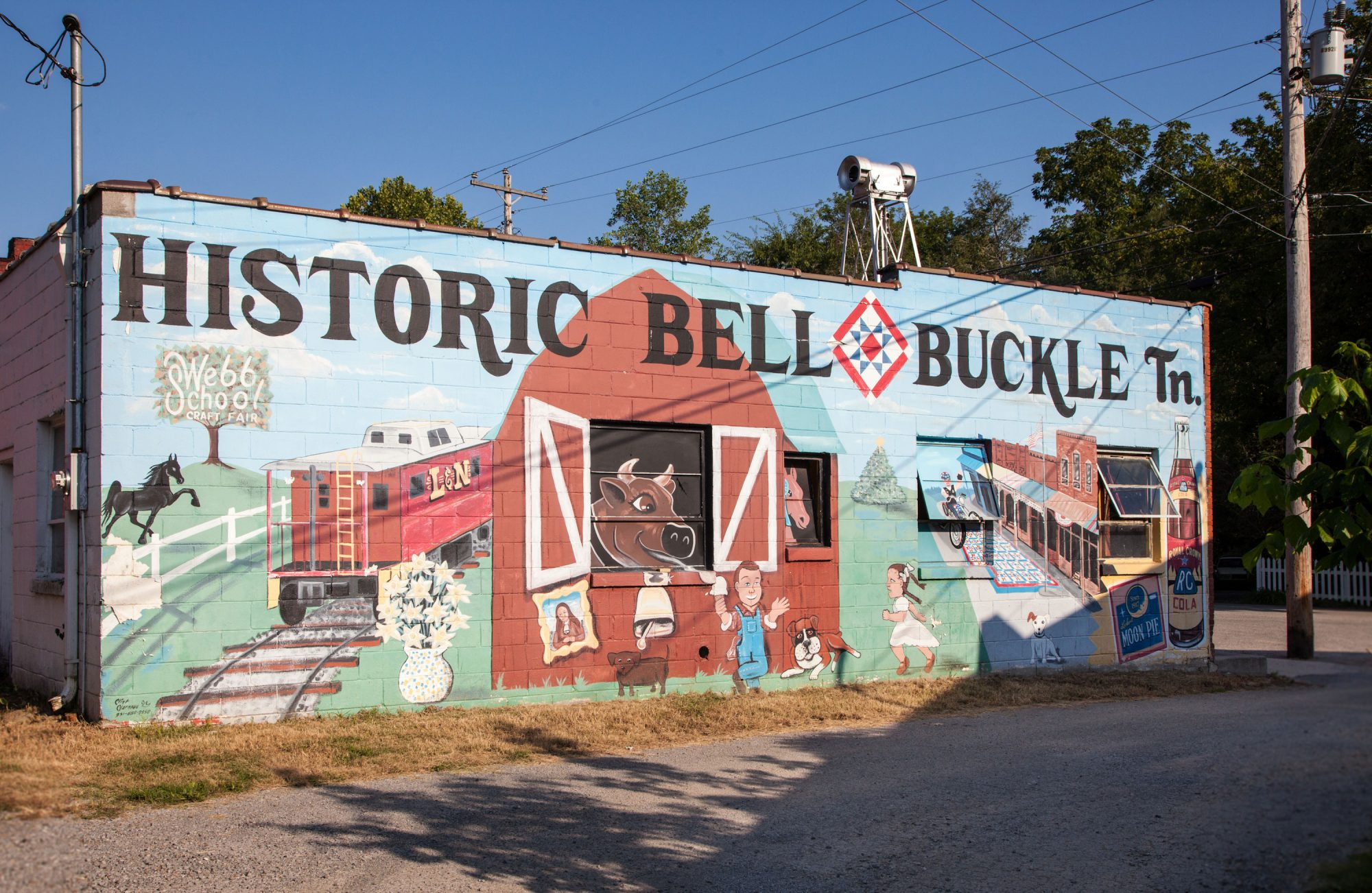 Bell Buckle, TN Wall Mural
