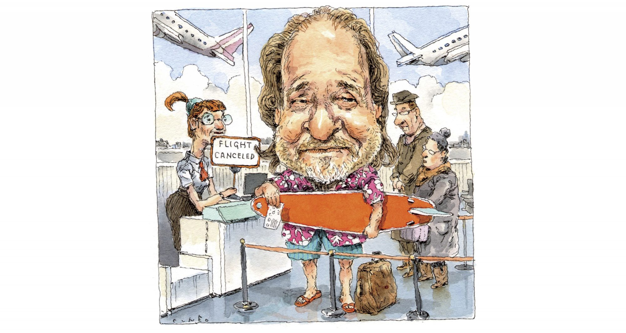 Rick Bragg Flying to Hawaii