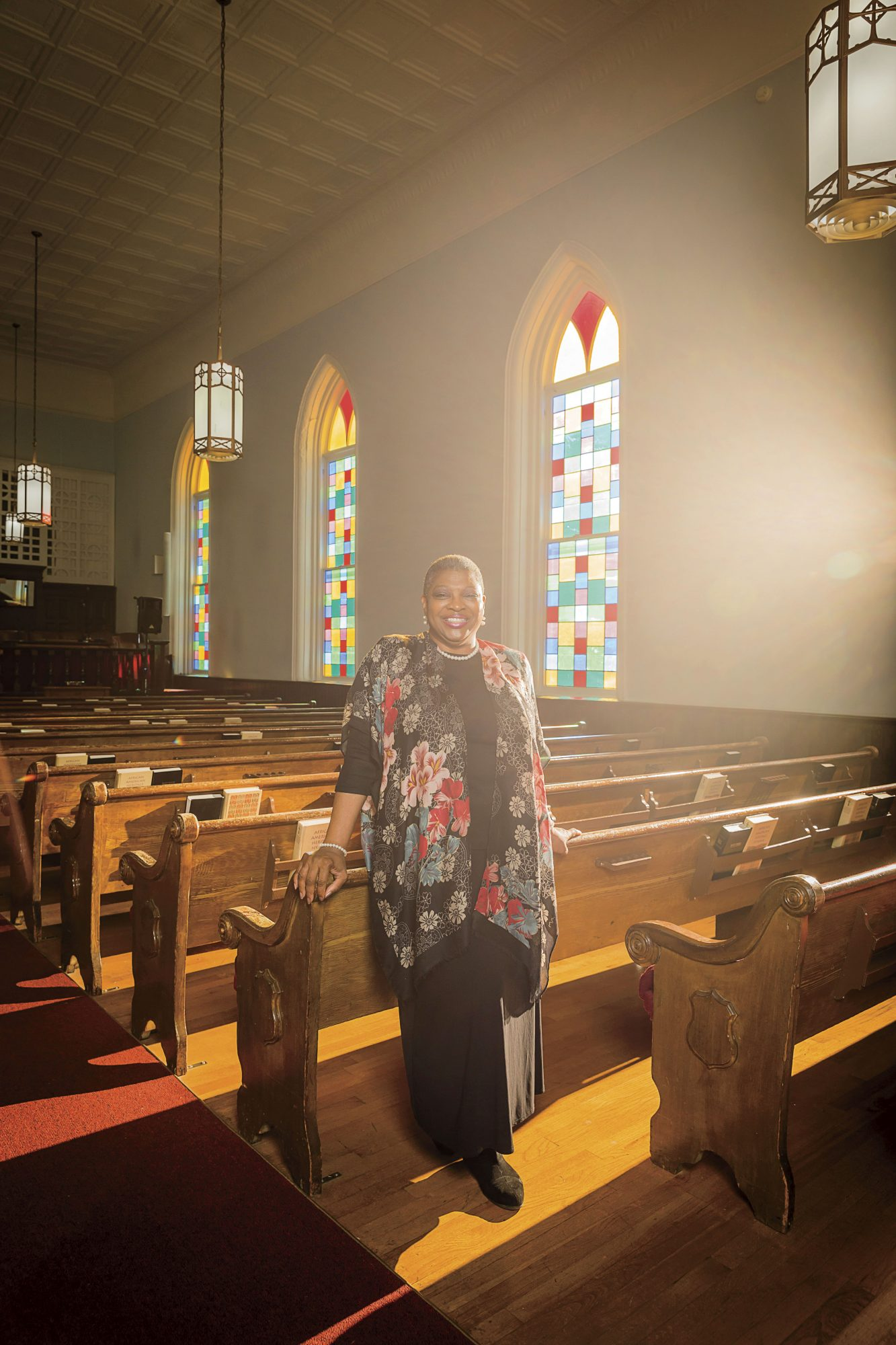 Wanda Battle, Tour Ministry Director at The Dexter Avenue King Memorial Baptist Church