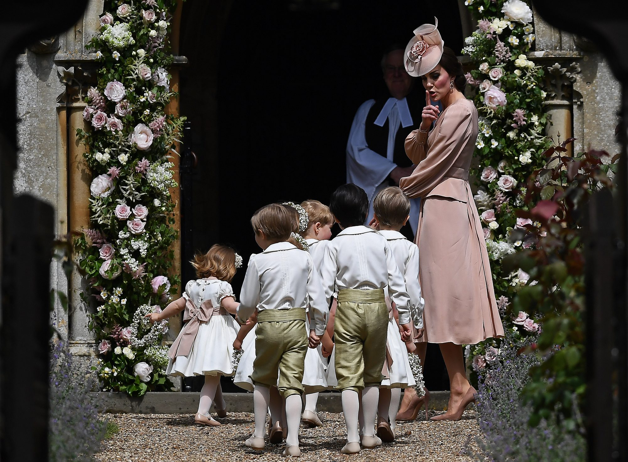 Kate Middleton Mom Moments Pippa Wedding