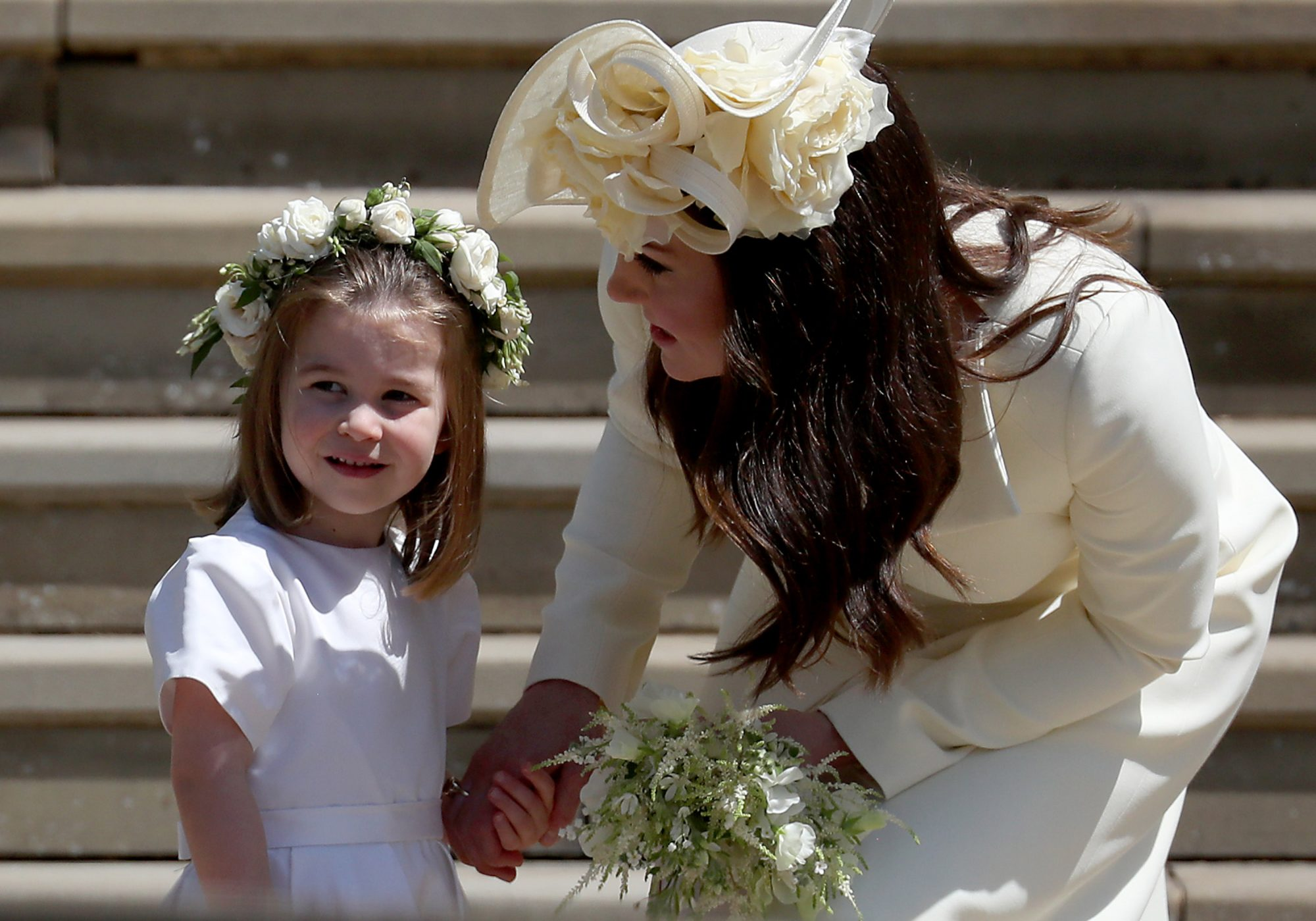Kate Middleton Mom Moments Charlotte Harry and Meghan Wedding