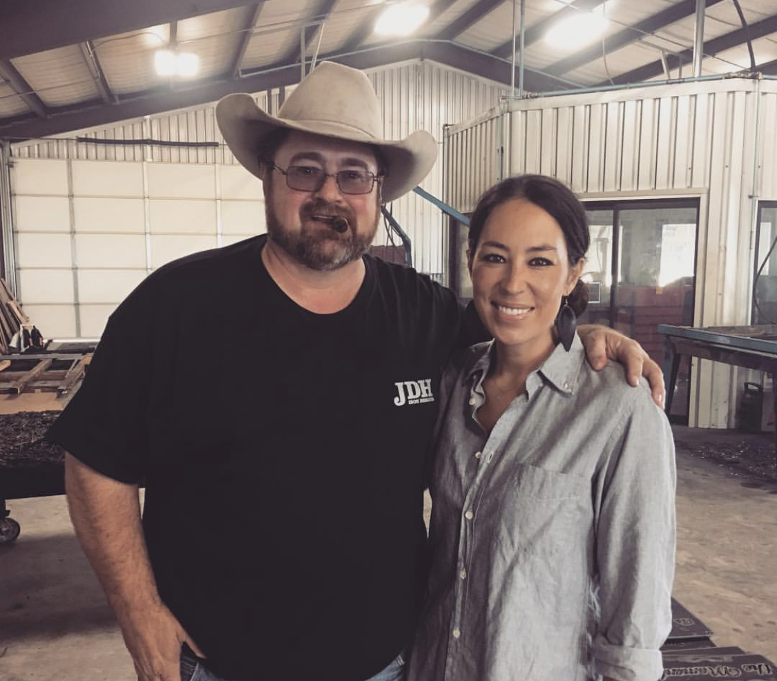 Jimmy Don Holmes and Joanna Gaines