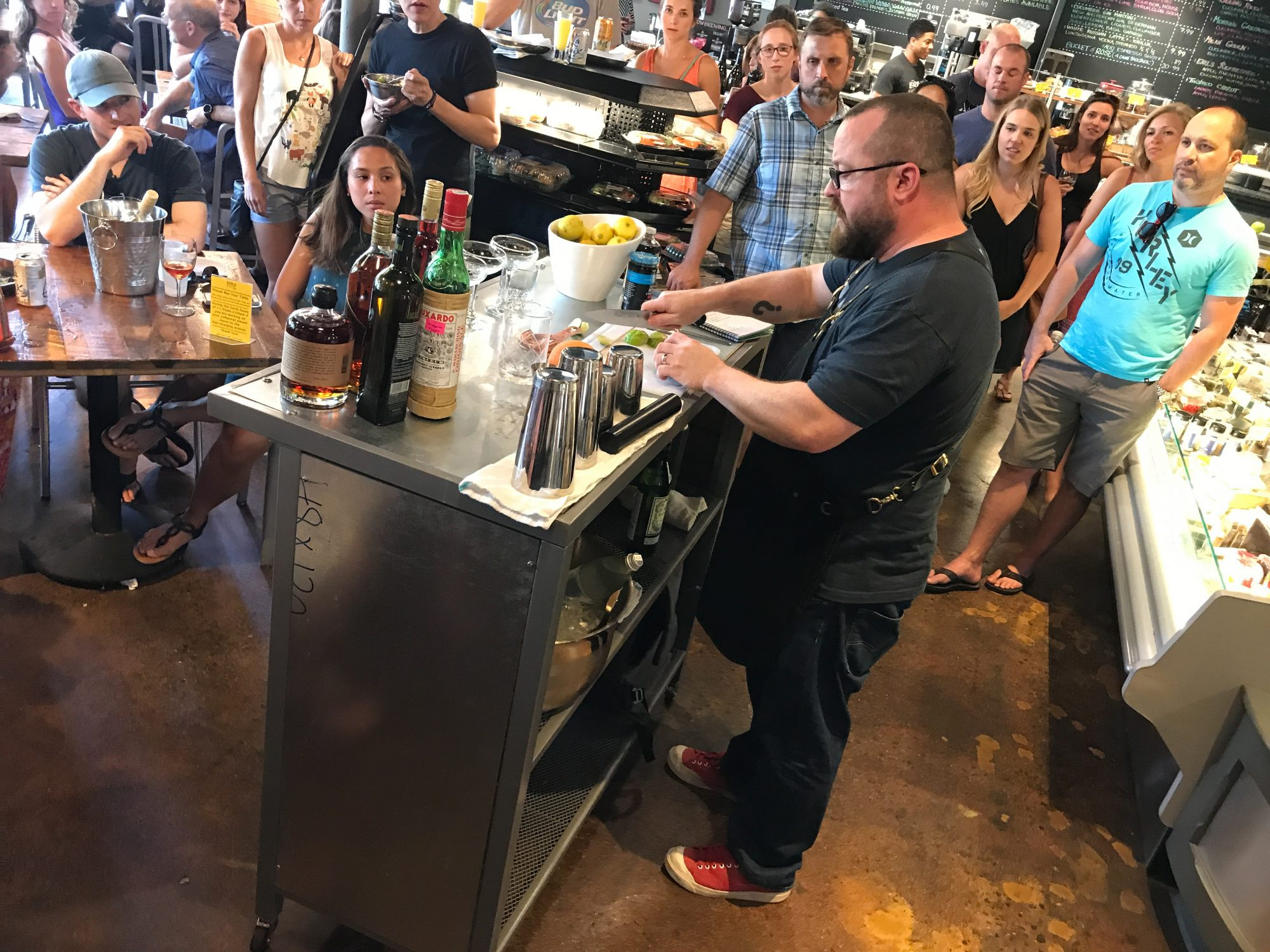 Earl's Grocery Mixology Lab