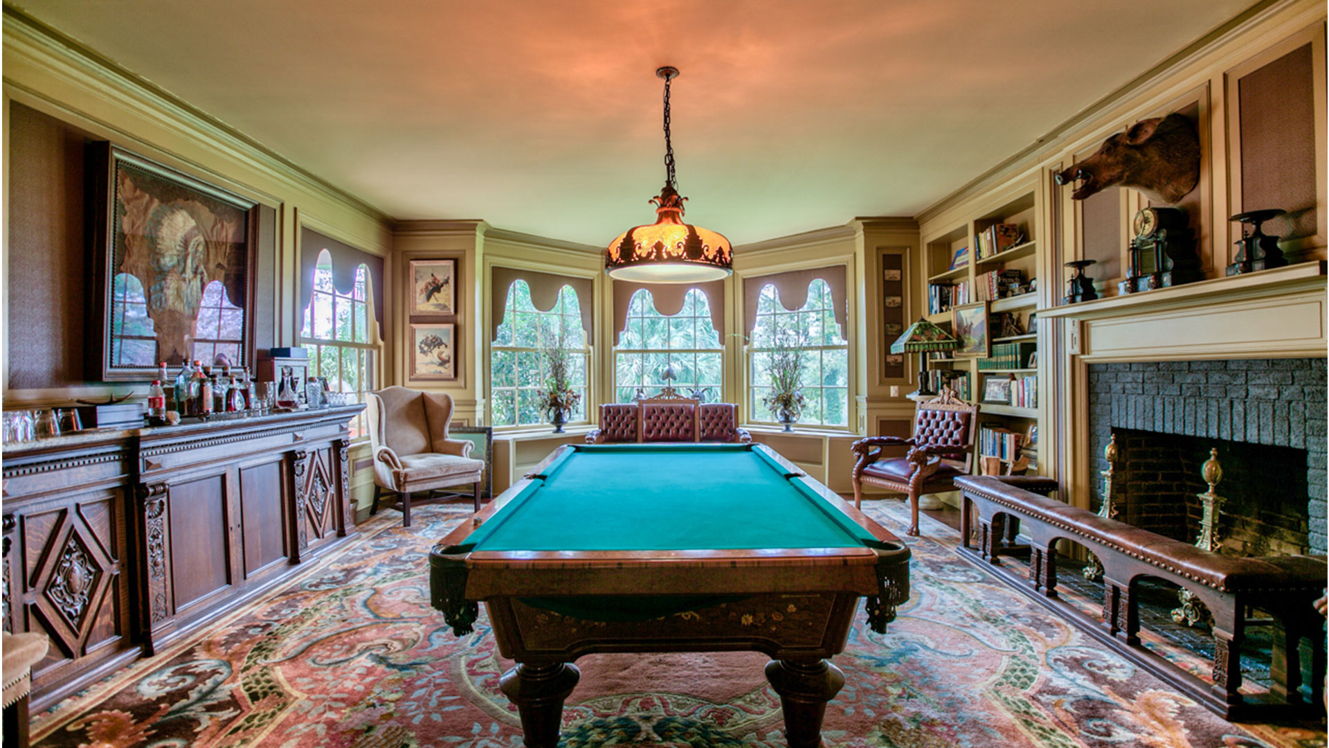Chinquapin Plantation Georgia Billiard Room