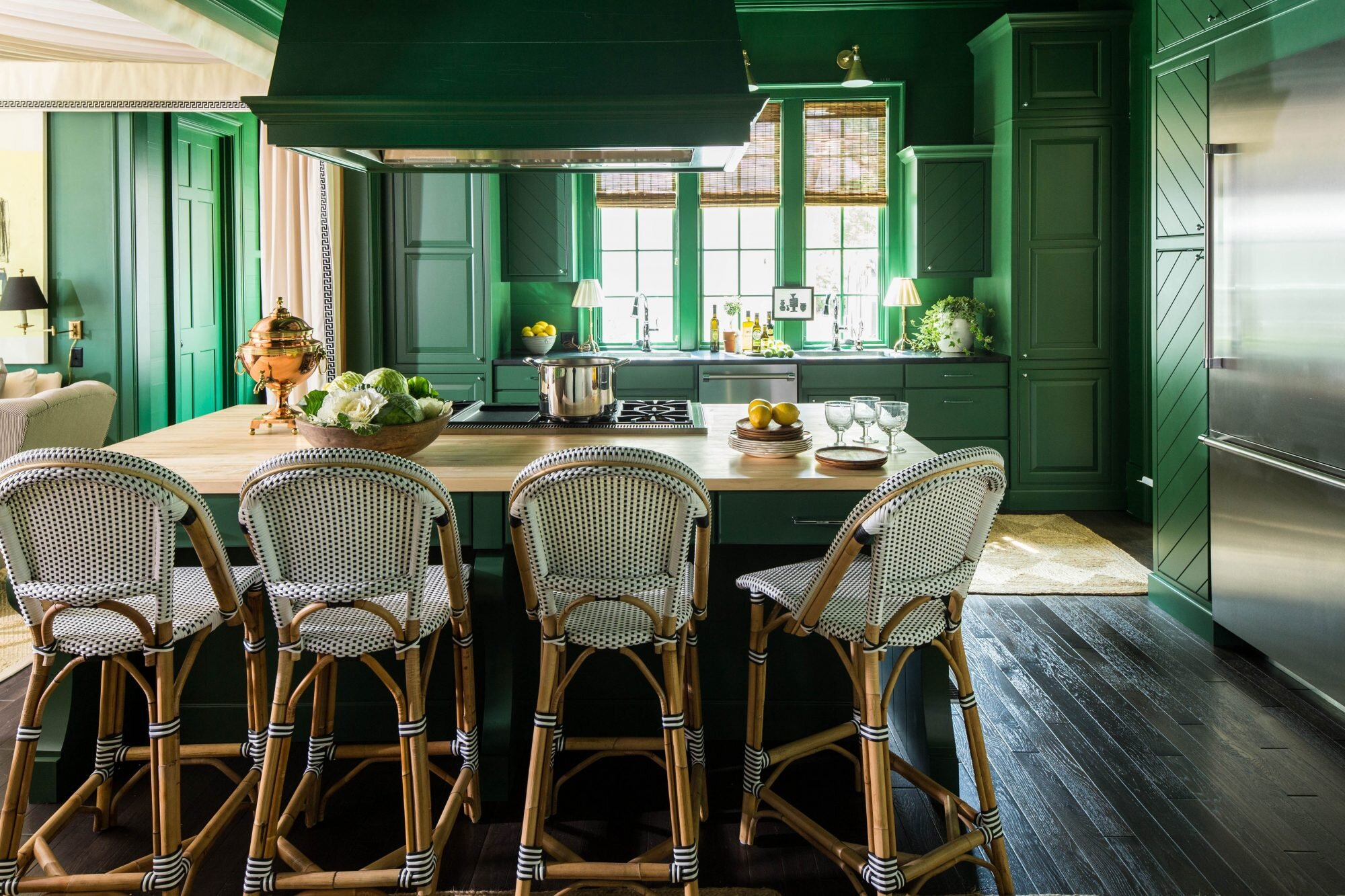 Kitchen Wall Colors Are Getting Moody in 2019 | Southern Living