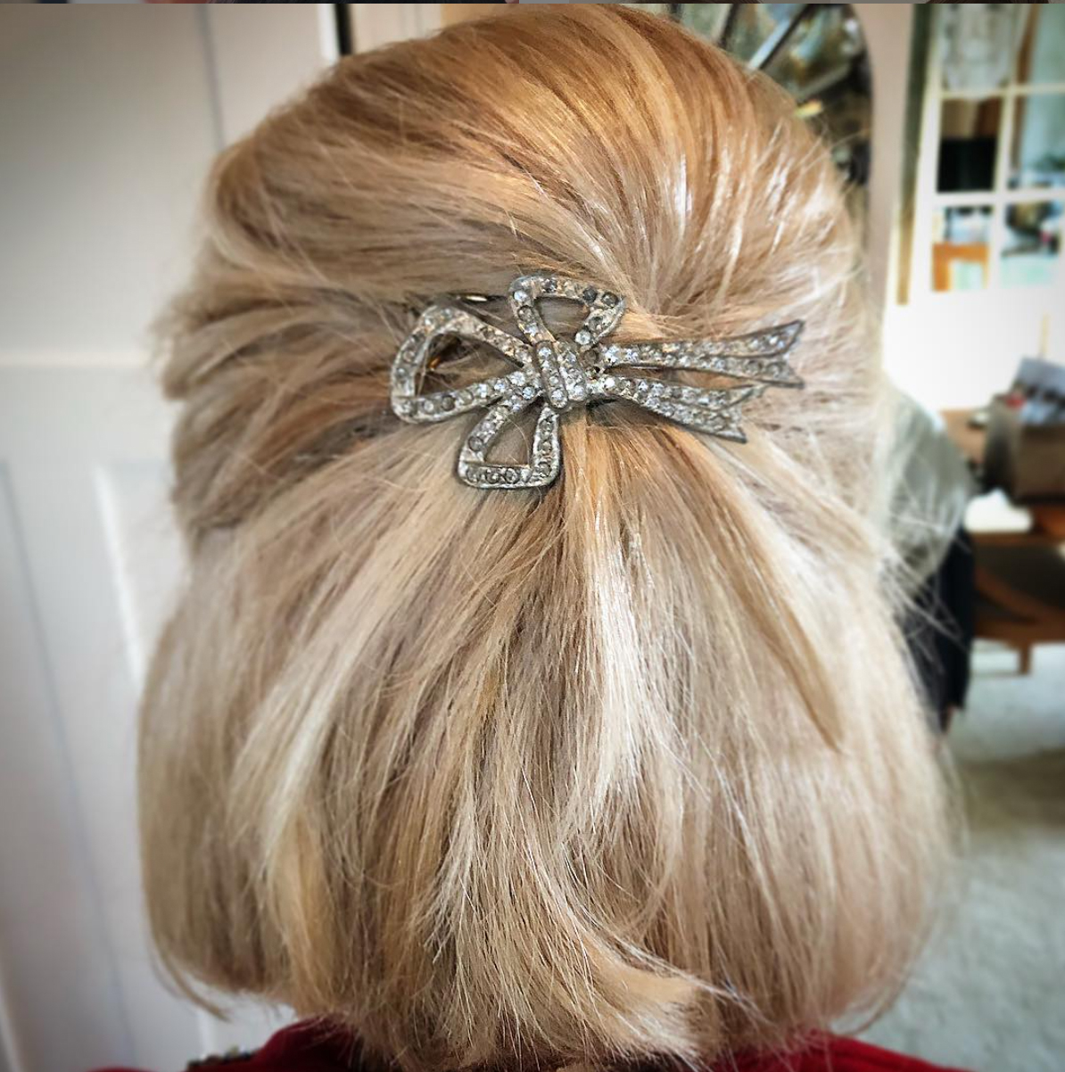 Use a Barrette