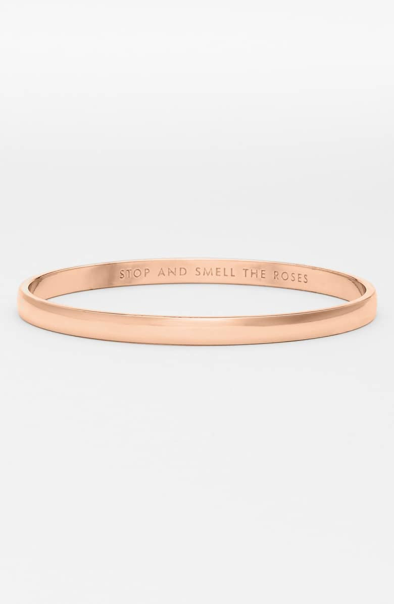 Kate Spade 'Stop and Smell the Roses' Bangle