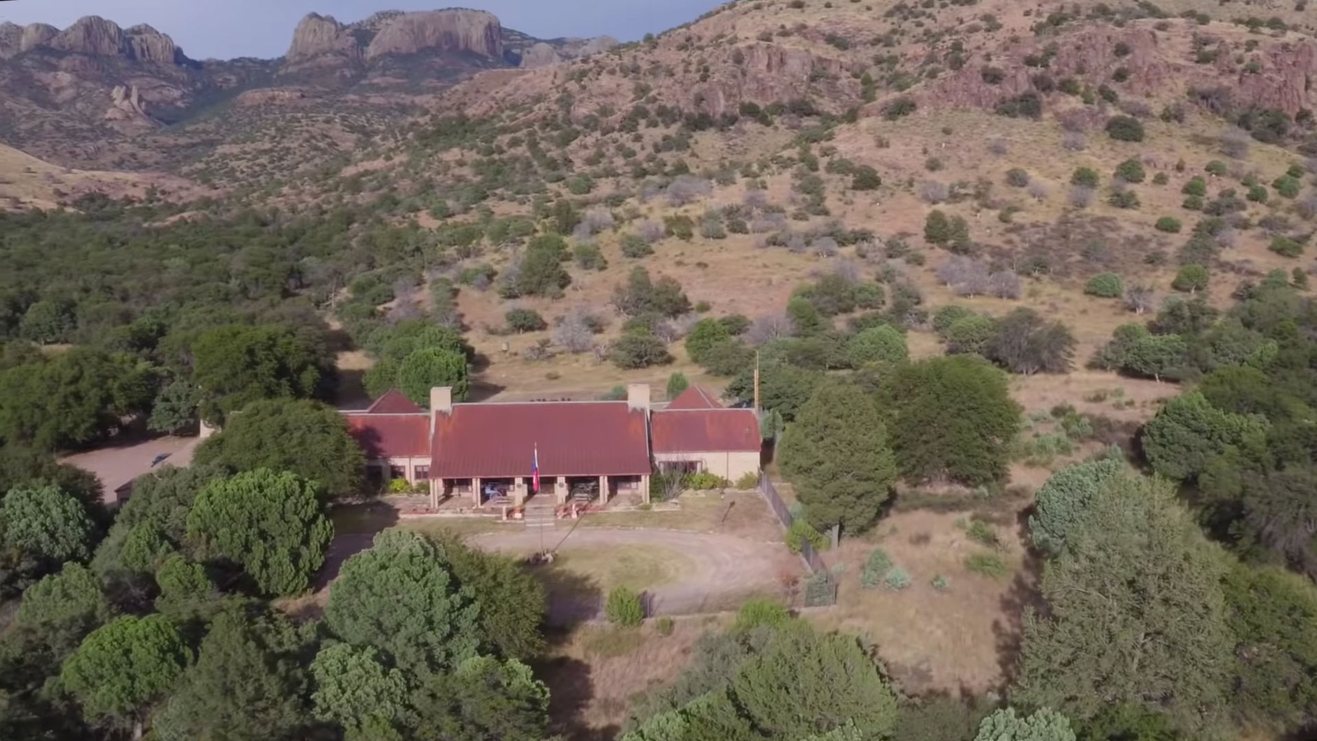 Livermore Ranch Texas Aerial