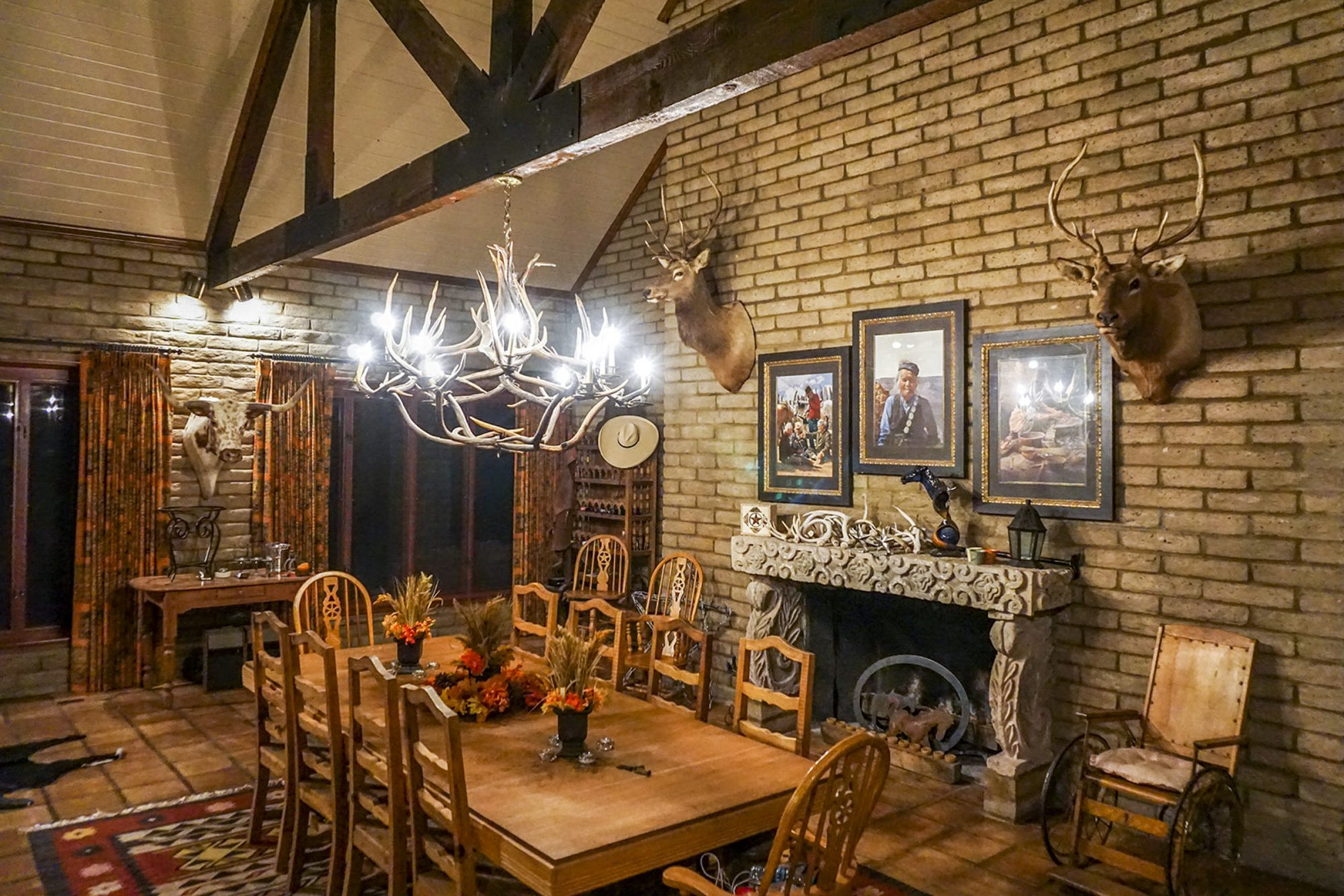 Livermore Ranch Texas Dining Room