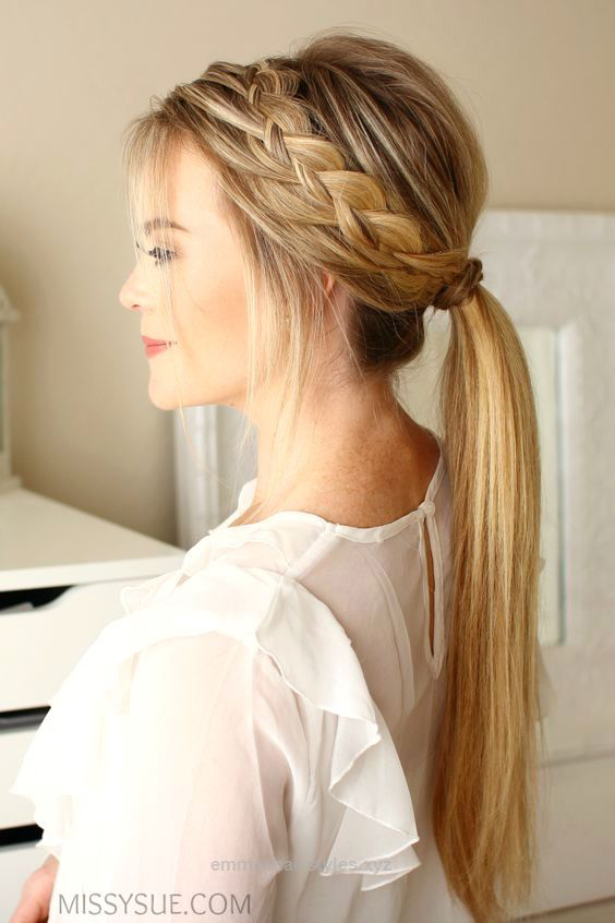 Long Braid Ponytail