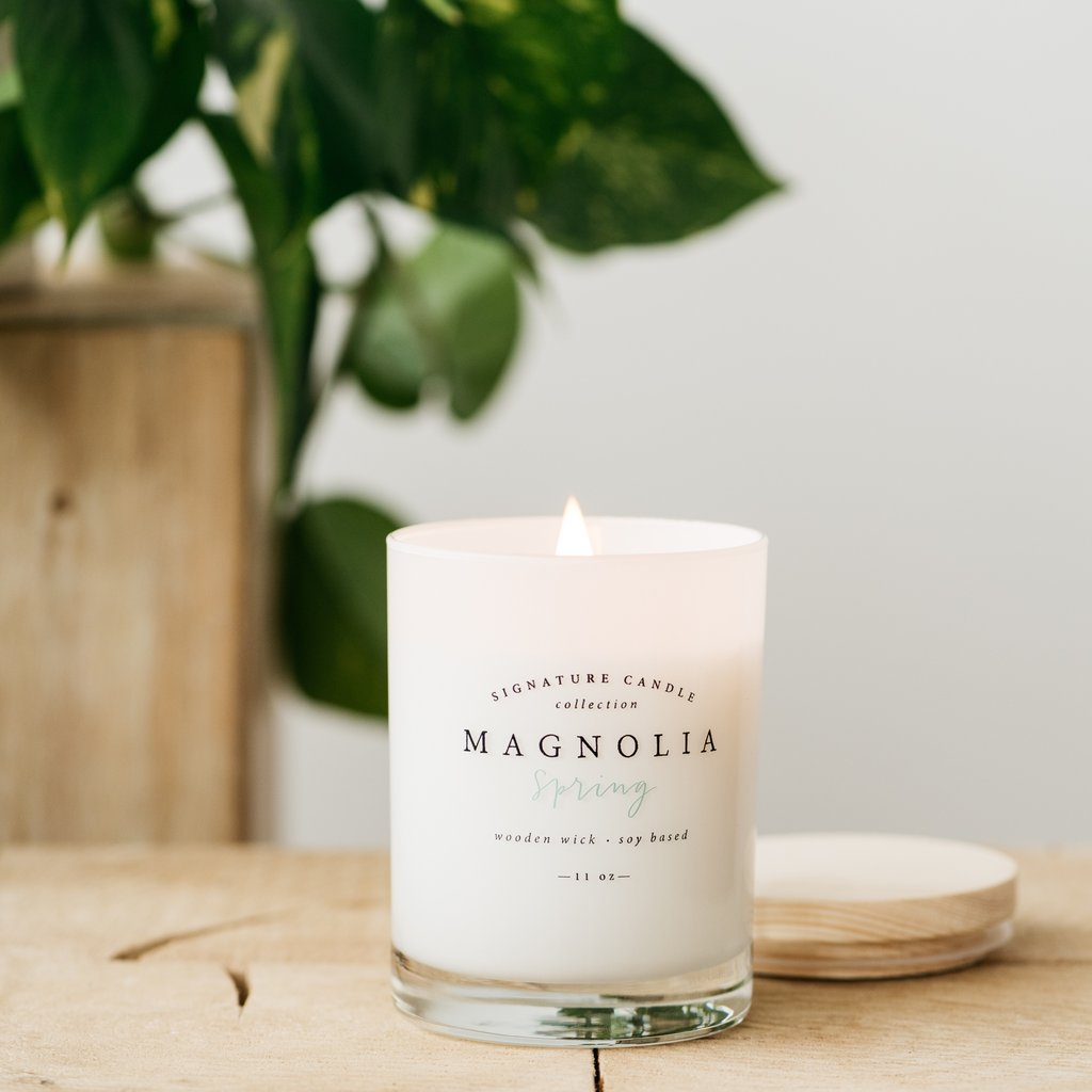 Magnolia Spring Candle