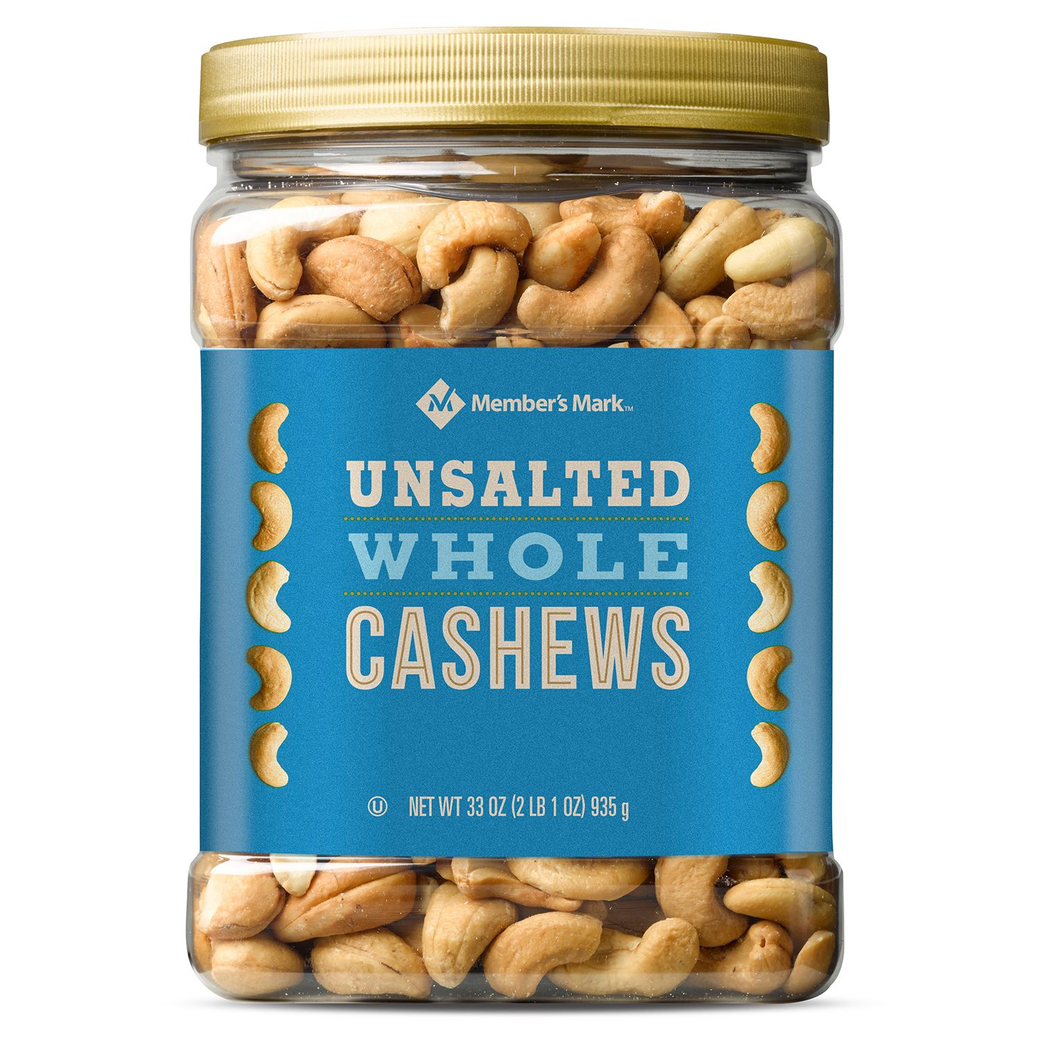 Member's Mark Unsalted Whole Cashews