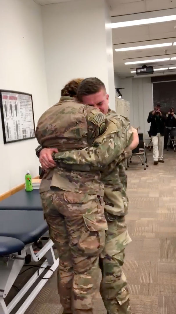 Army Couple Reunion