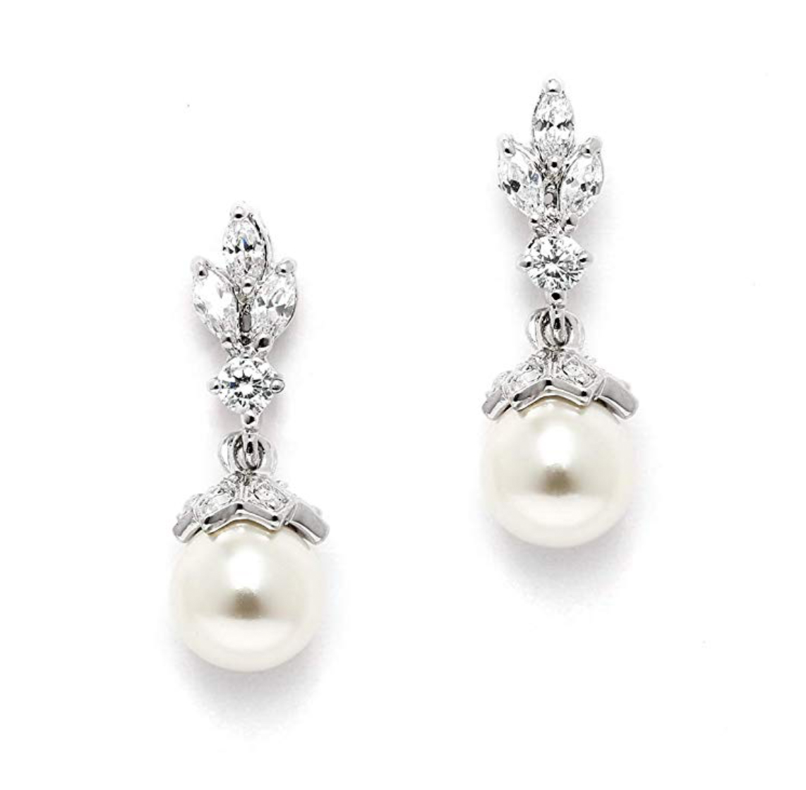 Vintage-Inspired Pearl Drop Earrings