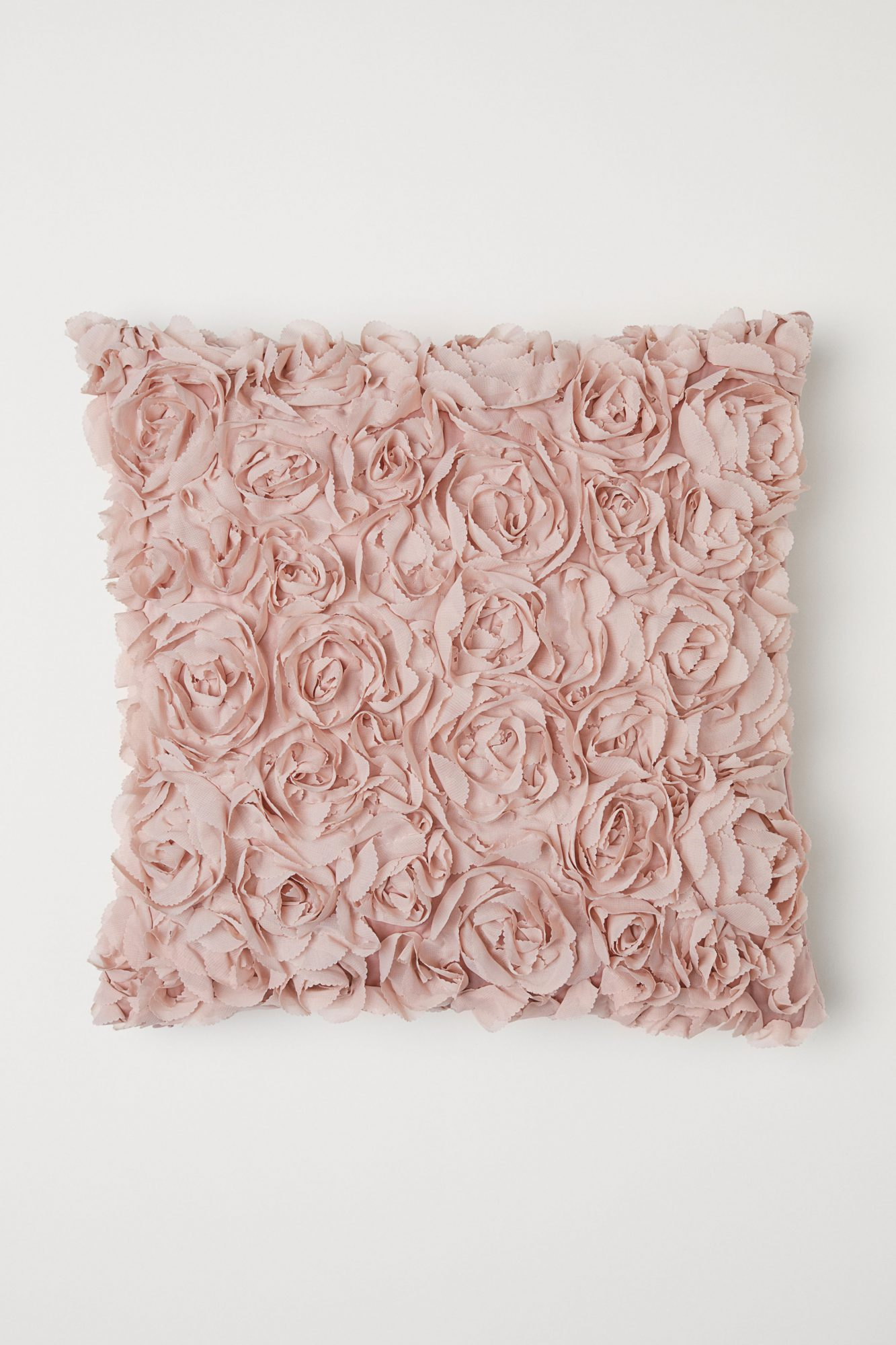 Chiffon Flower Cushion Cover