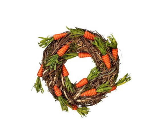 Twine Carrot Wreath