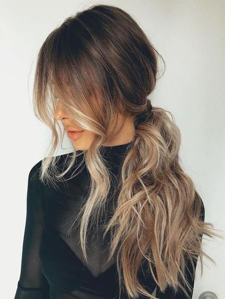Astonishing 34 Pretty Ponytail Hairstyles That Prove Theyre Coming Back Big Natural Hairstyles Runnerswayorg