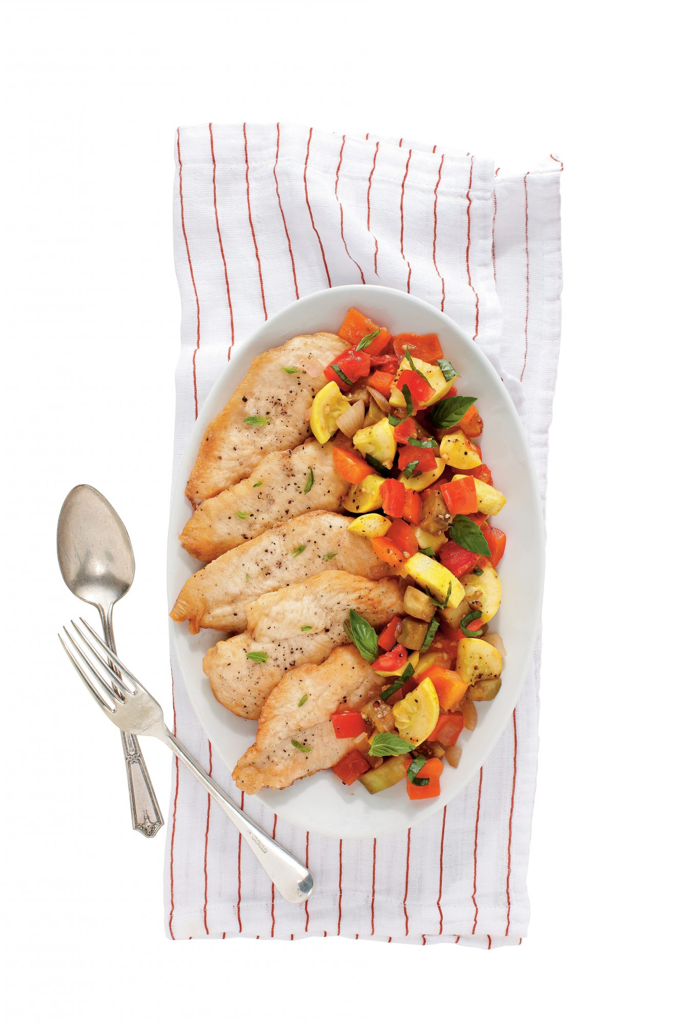 Chicken with Ratatouille