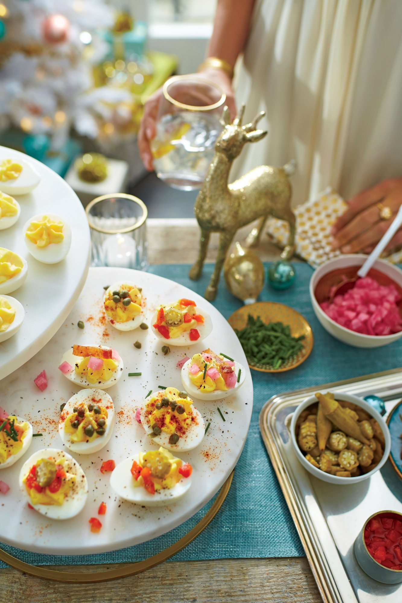 DIY Deviled Egg Bar