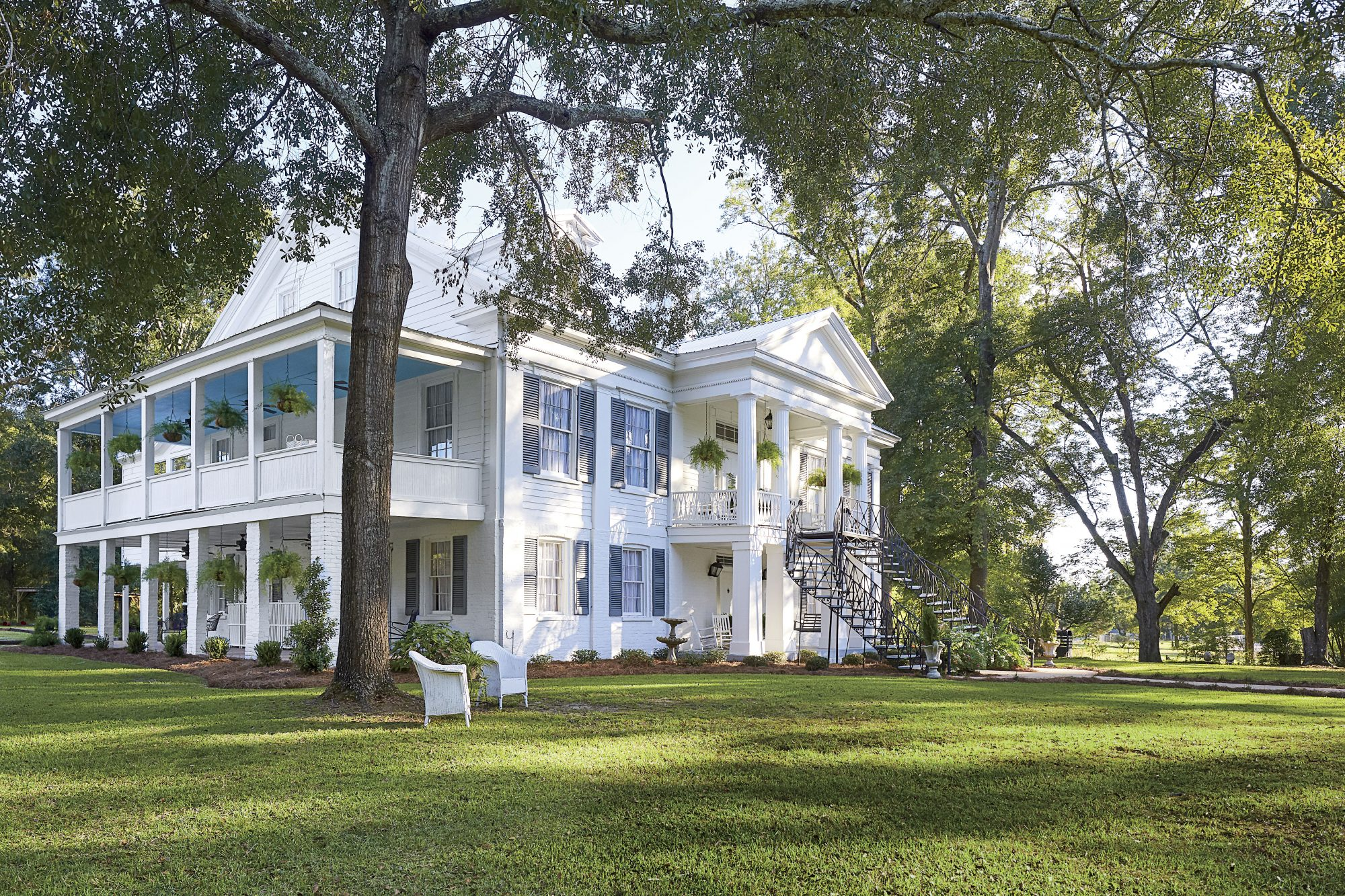 Sidney Collins Freeman Restored House After