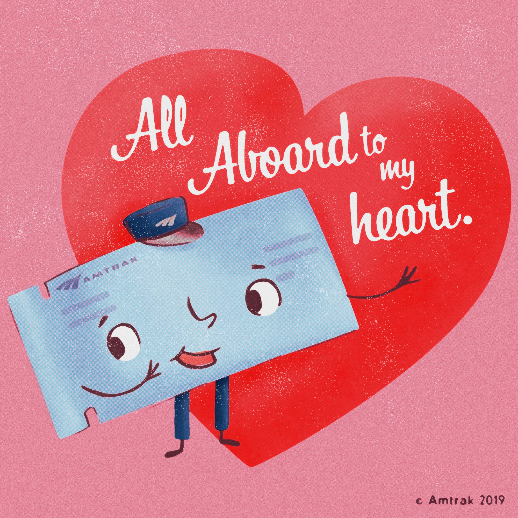 Amtrak Valentine's Day Sale 2