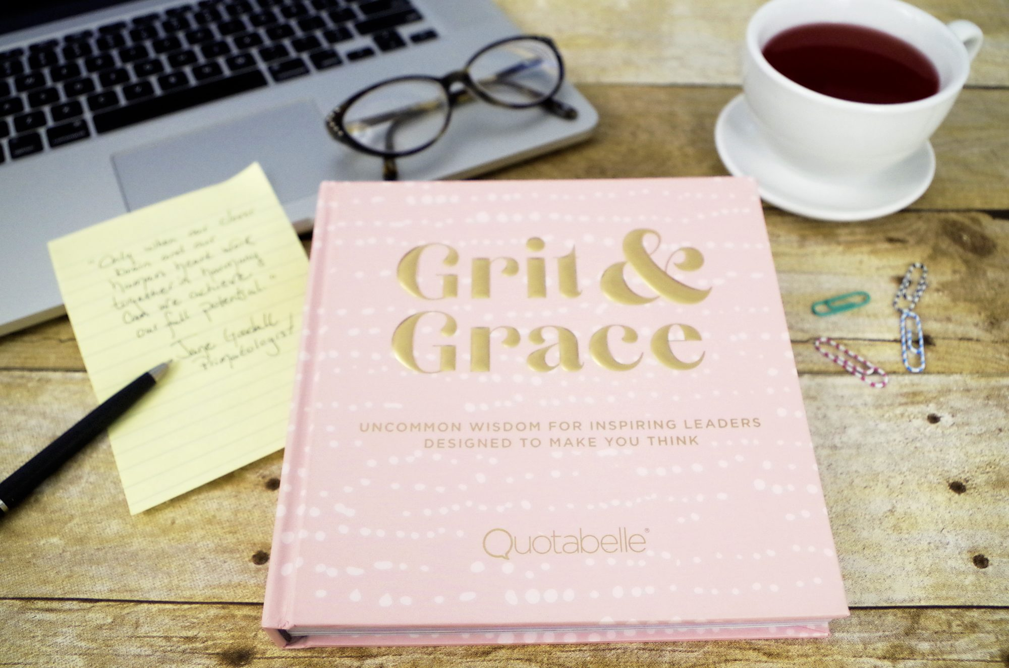 Grit and Grace: Uncommon Wisdom for Inspiring Leaders Designed to Make You Think