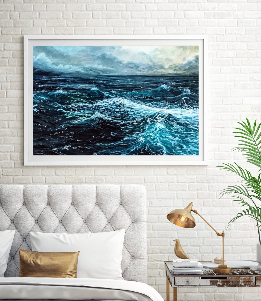 High Seas Painting