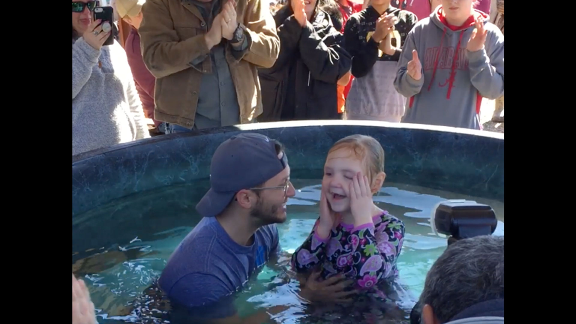 First Pentecostal Church of Columbus Baptism
