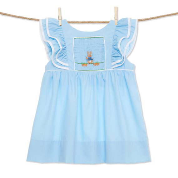 Peter Rabbit Smocked Dress