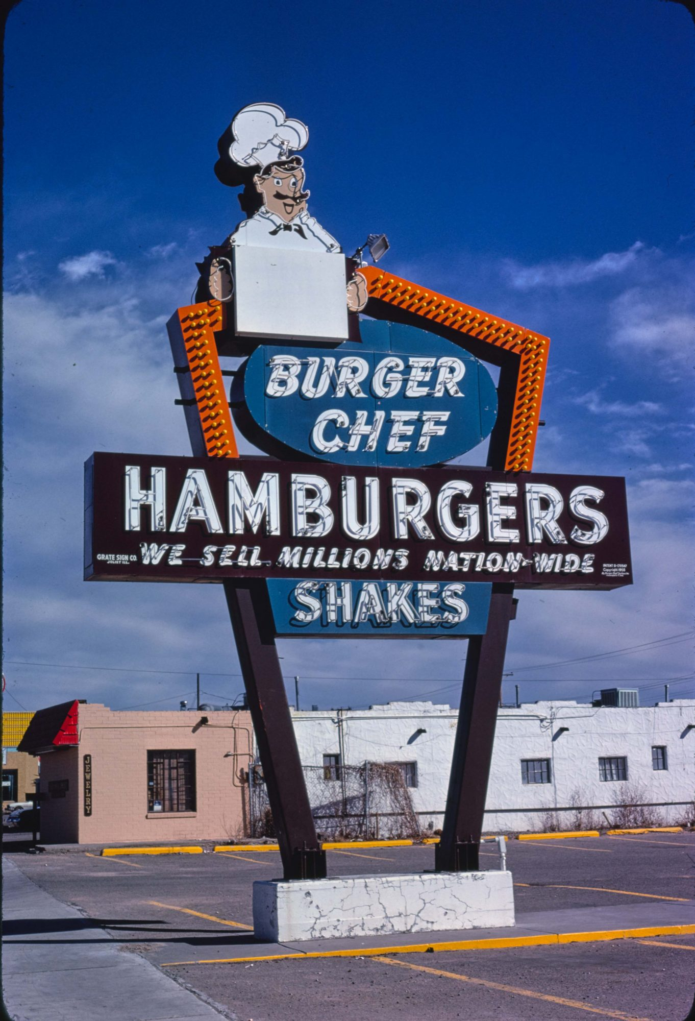 Burger Chef Sign