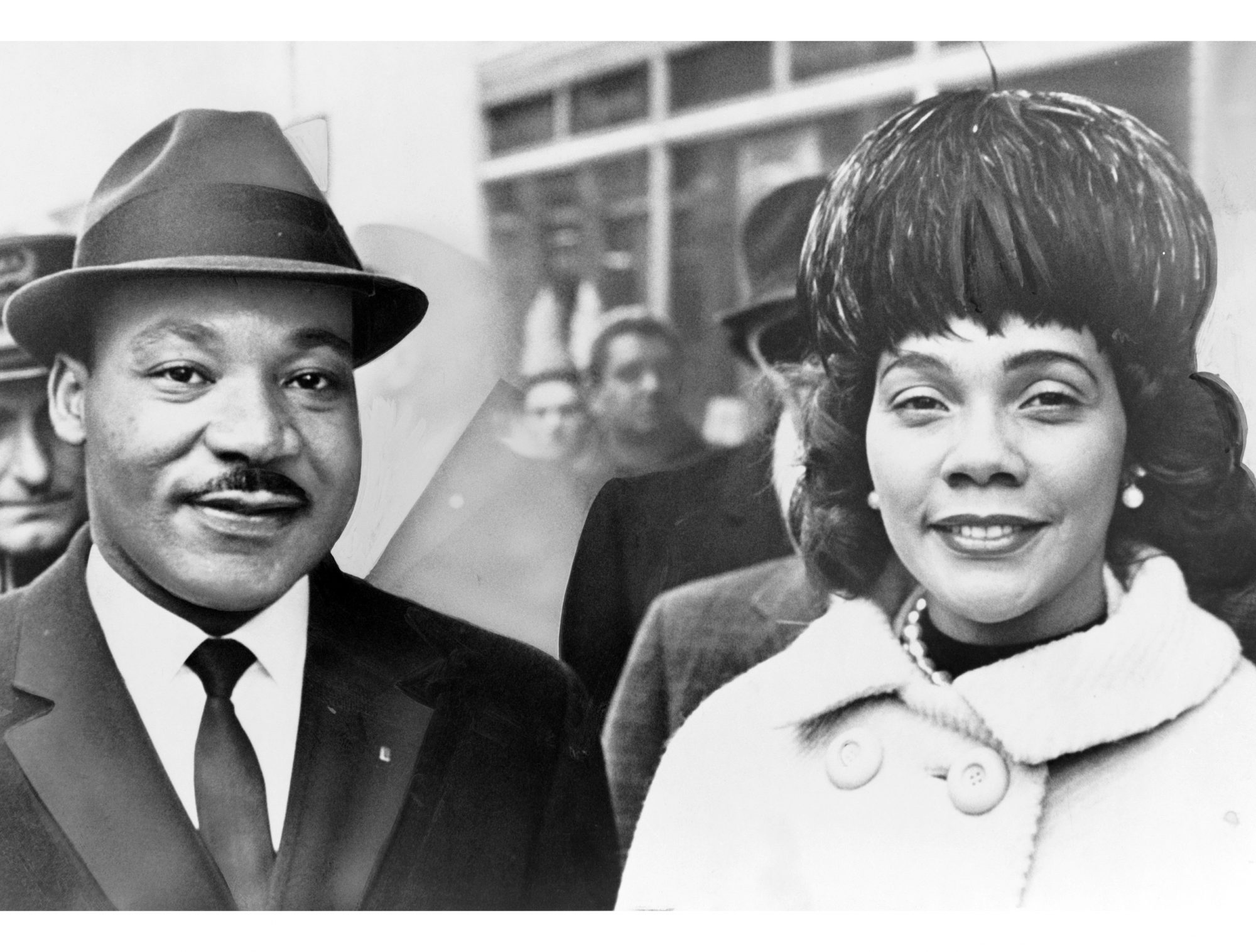 Martin Luther and Coretta Scott King