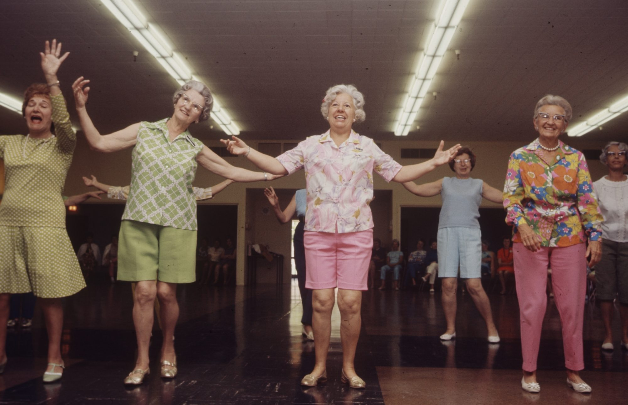 Dancing Older Women in 1970