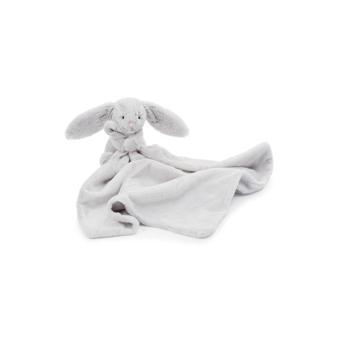 Jellycat Grey Bunny Soother Blanket