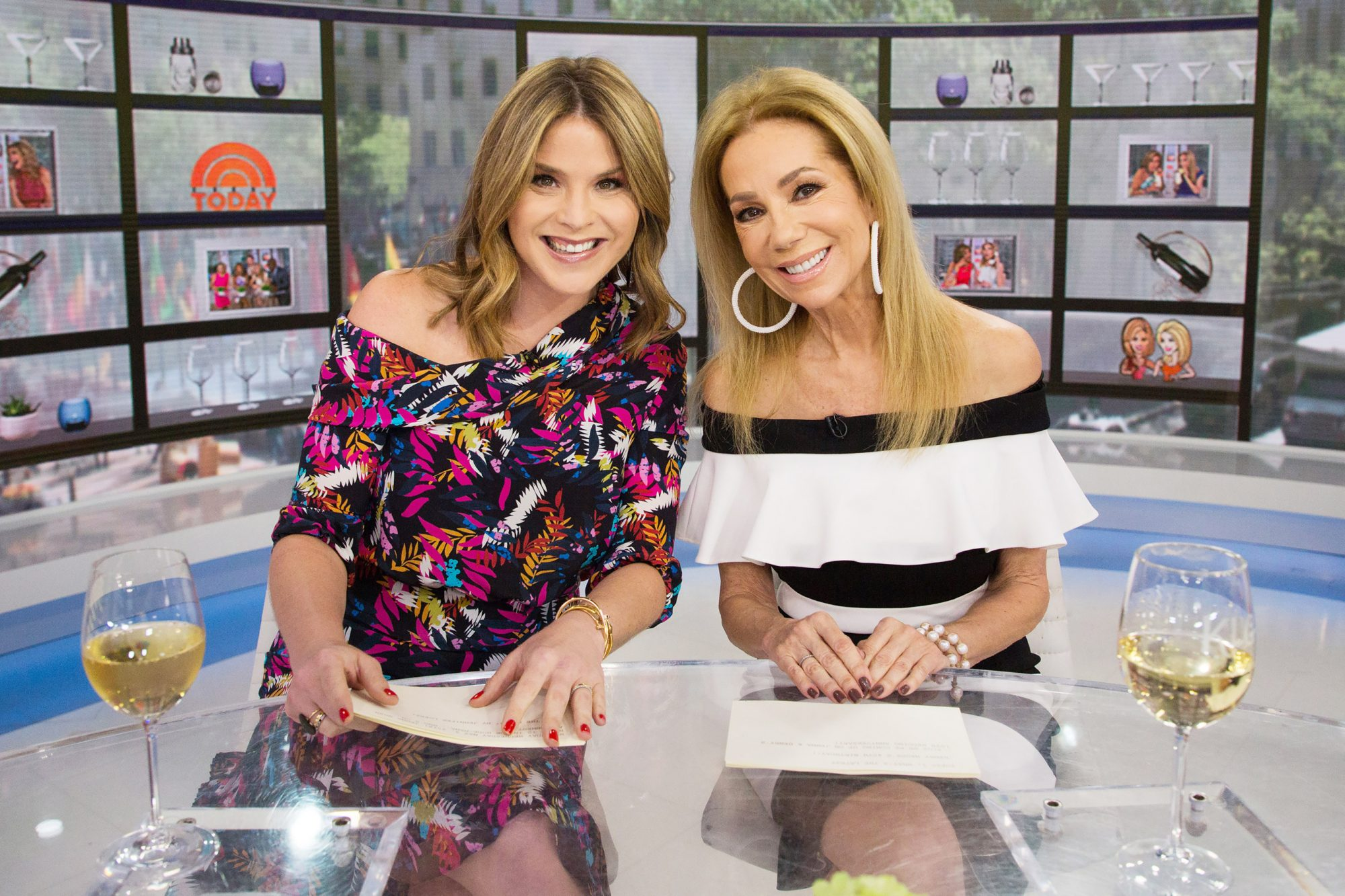 Kathie Lee Gifford Praises Jenna Bush Hager as She Takes on Today's Fourth Hour: 'You Earned It' jenna-hager