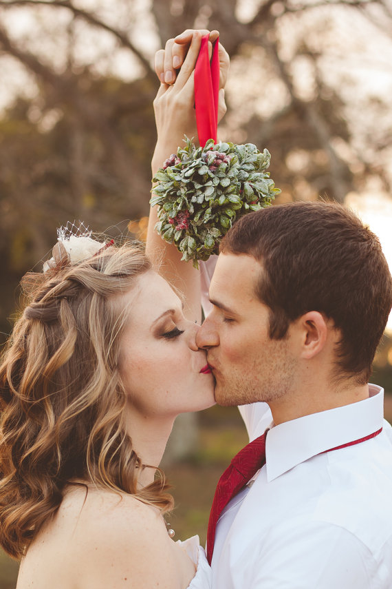 Feel The Love with Wedding Mistletoe
