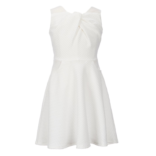 Knot-Front Dress