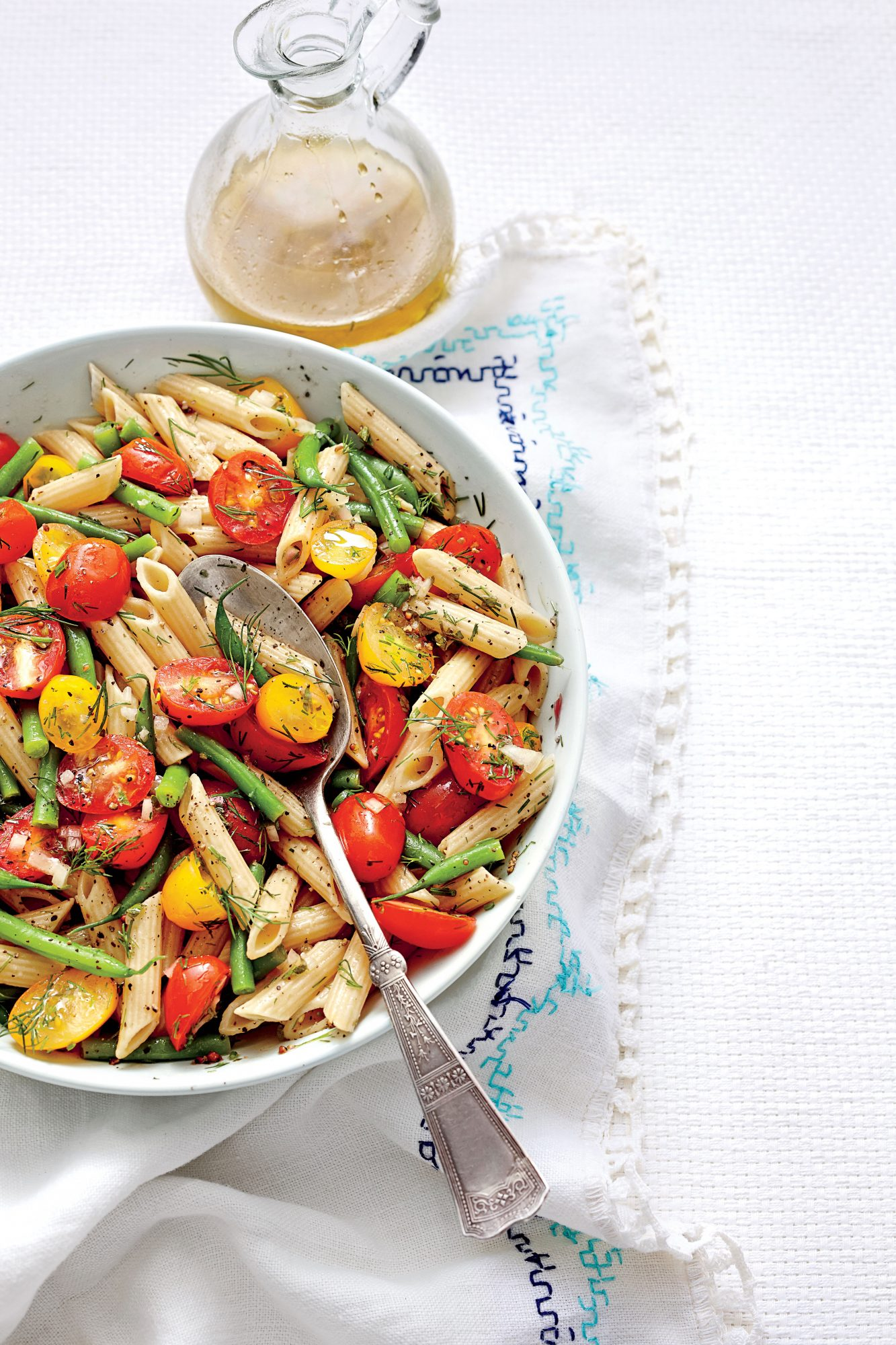 Penne with Green Beans and Tomatoes Marian Cooper Cairns