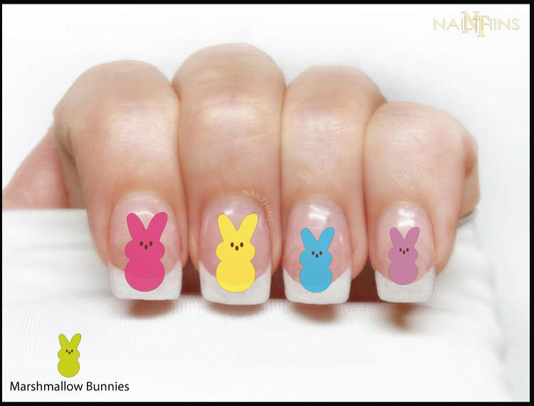Marshmallow Bunny Decals