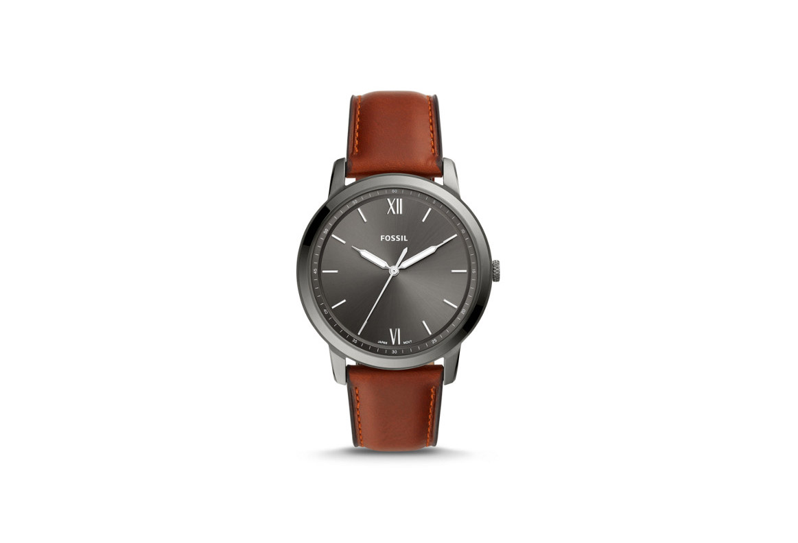 Classic Leather Fossil Watch