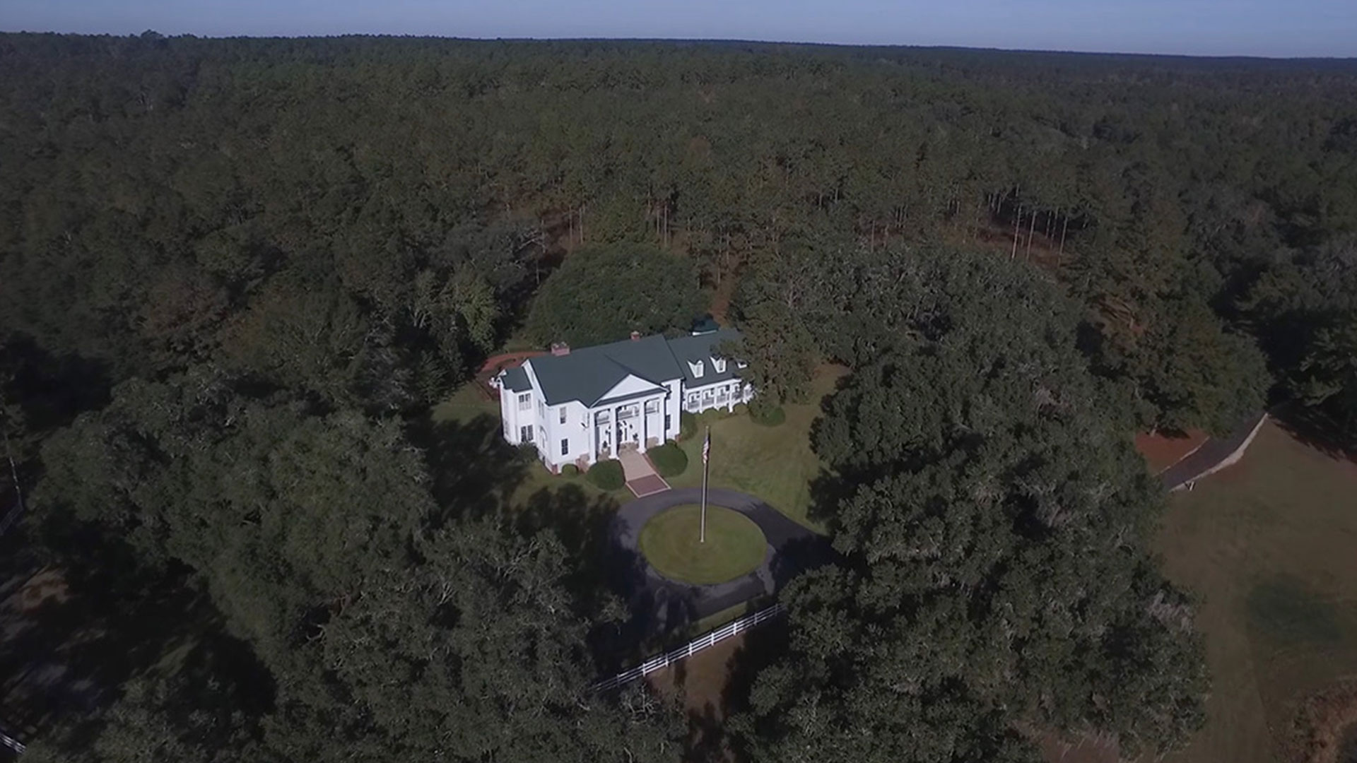 Oak Hill Plantation Aerial