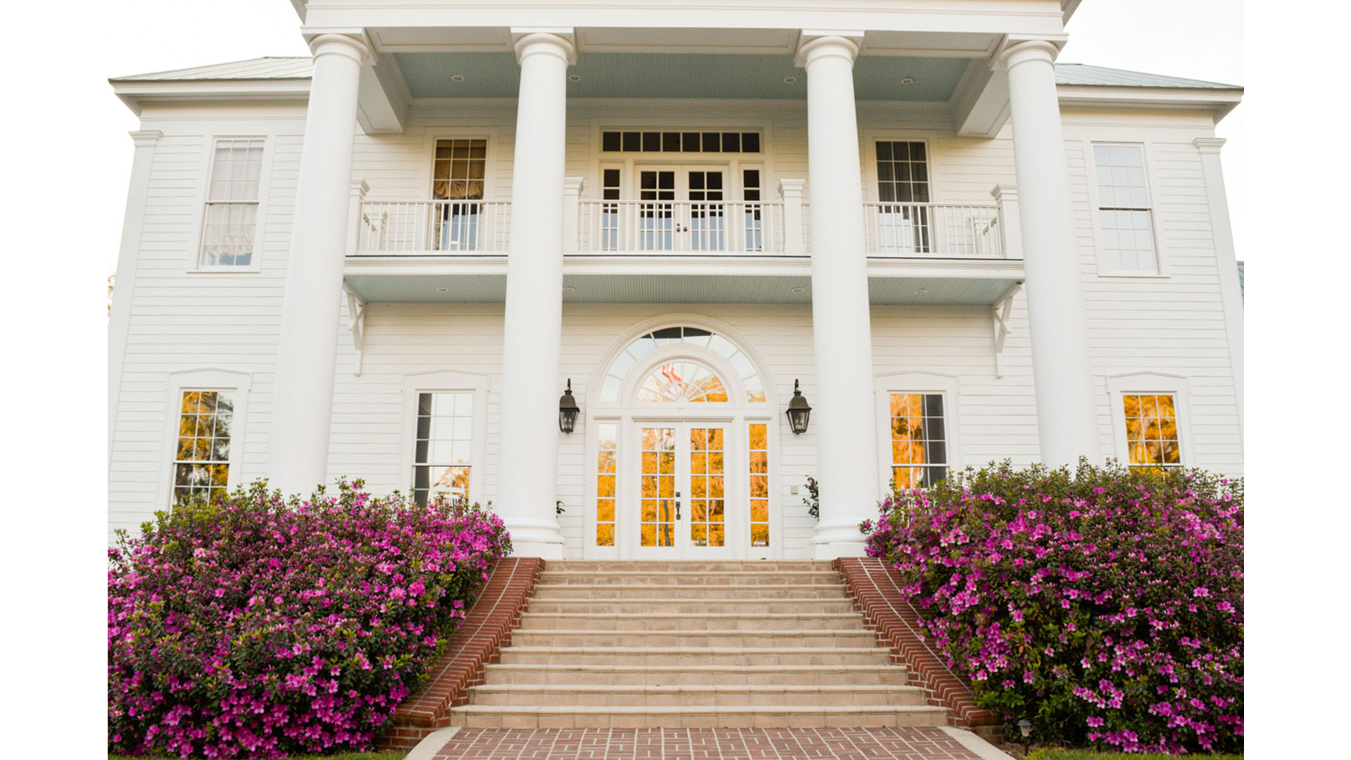 Oak Hill Plantation Facade