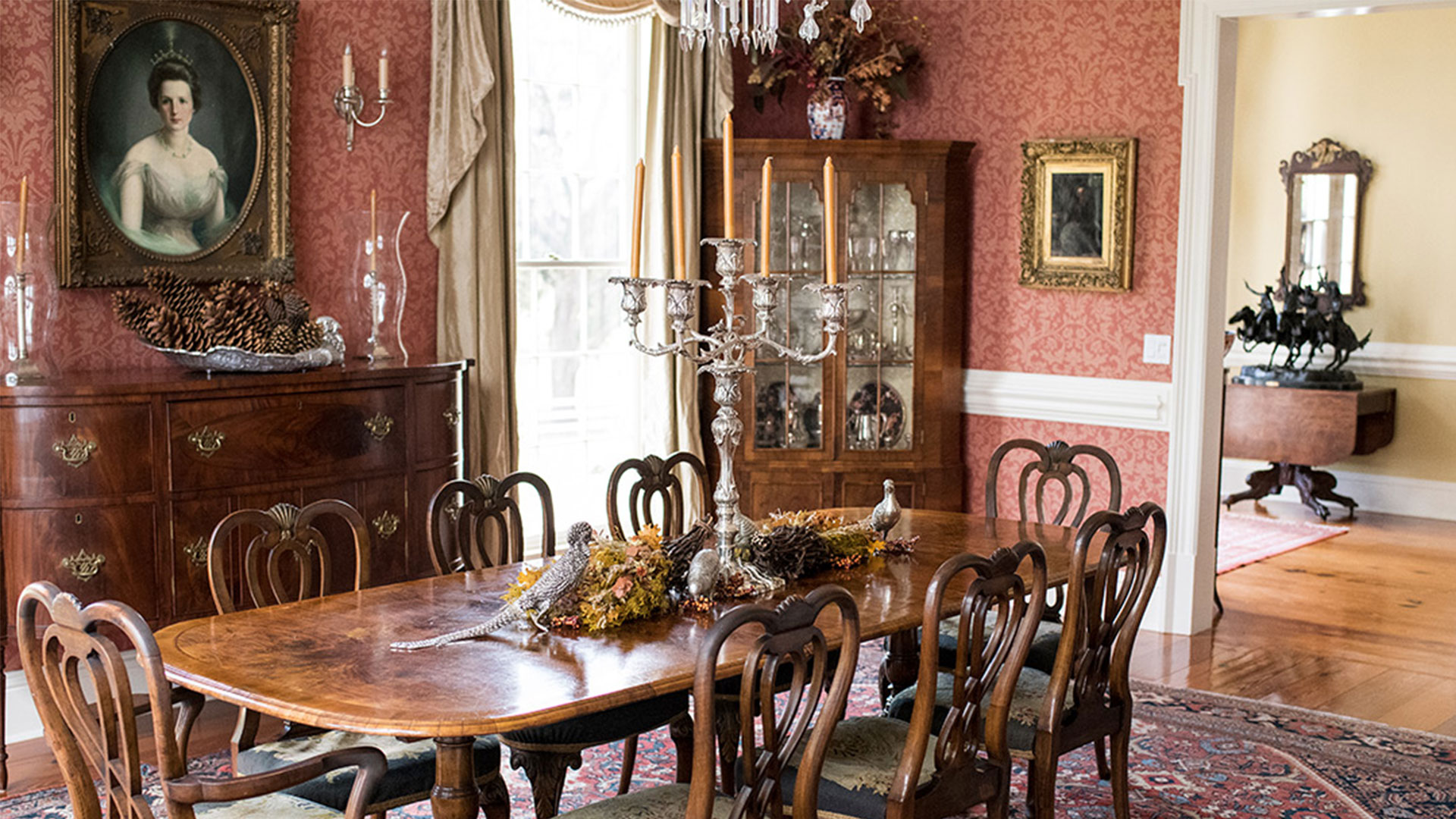 Oak Hill Plantation Dining Room
