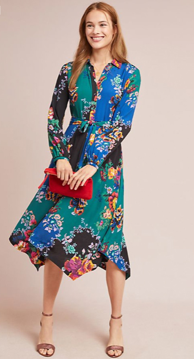 Patchwork Spring Dress